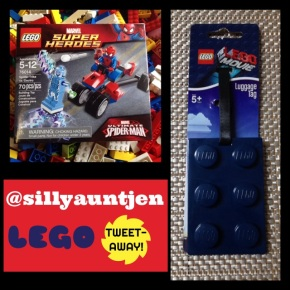 1st Ever @sillyauntjen Lego Tweet-away!