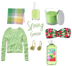 Favorite Things – Spring Green Edition